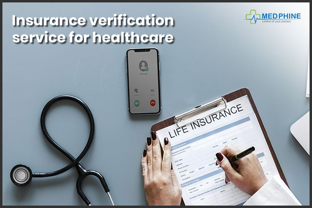 Insurance verification service for healthcare