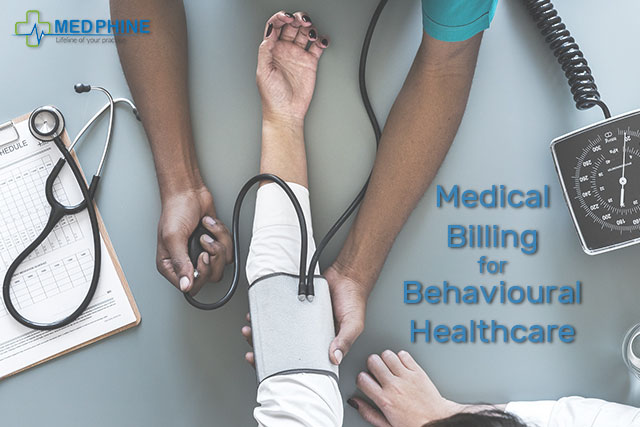 Medical billing for behavioural healthcare